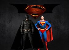 Batman Superman A3 repositional cartel de tela V
