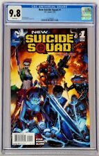 New Suicide Squad #1 DC 2014 CGC 9.8 Jeremy Roberts Cover & Art Top Census Grade