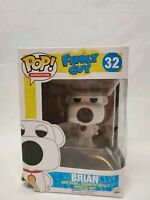 FLAWED BOX Family Guy Brian Griffin Pop Vinyl Figure FUNKO