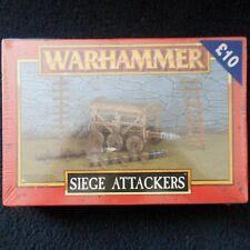 1998 Empire Siege Attackers Battering Ram Warhammer Army Dogs Of War Machine MIB