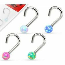 Nose Piercing Jewellery Opal