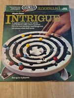Intrigue Board Game Vintage Adult Christmas Family Game