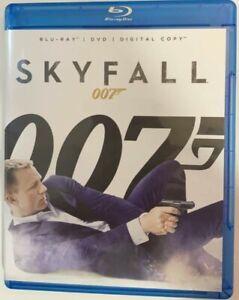 Skyfall, 007, Blu-Ray and Download, Daniel Craig, Free Postage