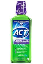 ACT Total Care Anticavity Rinse, Fresh Mint, 18 oz (4 Pack)