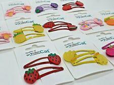 FRUIT Hair Clips Snap Pins Grip Metal Fashion Kids Baby Clip Girl Clip