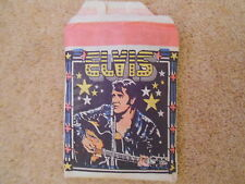 ELVIS TRADING CARDS PACK - 5 CARDS MONTY GUM HOLLAND