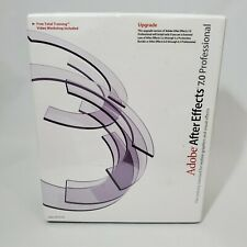 NEW IN BOX Adobe After Effects 7.0 Professional Upgrade Version PN 12070231 MAC