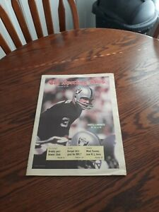 DECEMBER 20,1969-THE SPORTING NEWS-DARYLE LAMONICA OF THE OAKLAND RAIDERS(MINT)