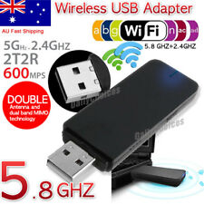 USB 3.0 AC600 802.11ac WiFi Wireless Adapter Dongle PC Laptop 5GHz Dual Band