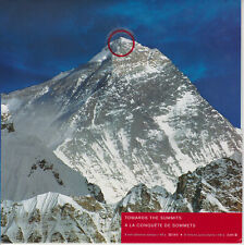 CANADA STAMP SHEET FOLDER 2002 YEAR OF THE MOUNTAINS SG 2160-2167