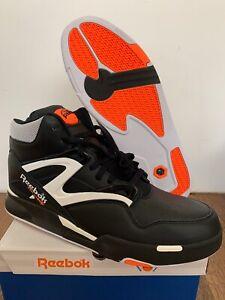 Reebok Pump Omni Zone II Black White Orange Basketball Dee Brown G57539 10-13