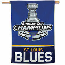 NHL St. Louis Blues 2019 NHL Stanley Cup Champions House Flag