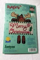 Merry Christmoose  & King of Angels sealed counted cross stitch kits Christmas