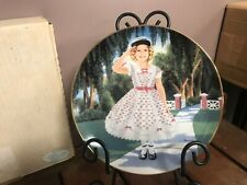 """Shirley Temple Danbury Mint """"The Little Rebel"""" Decorative Collector Plate"""