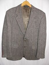 Harris Tweed Blazer Vtg Sports Coat Herringbone 100% Scottish Wool Men`s 42R