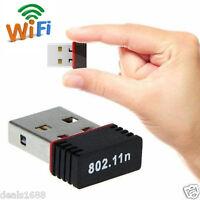 Wireless 150Mbps USB WiFi Dongle Wireless Adapter 802.11b/g/n Network LAN Card