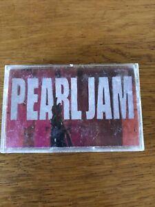Ten by Pearl Jam (Cassette, Aug-1991, Epic)