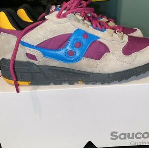 SAUCONY SHADOW 5000 SHOES - ASTRO/AIR IN HAND READY TO SHIP