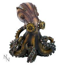 Steampunk polpo | octo-steam Tendrils | BRONZATO Statua Figurina ornamentale | NUOVO
