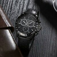 New TISSOT V8 T1064173605100 Black Dial T-Sport Black Leather Quartz Men's Watch
