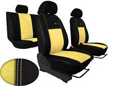 VW GOLF III paßgenaue Sitzbezüge, Schonbezüge EcoLeder mit Alcantarasitzfläche