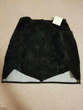 BNWT Ghospell Women's Gunplay Tulip Skirt, Black, Size L RRP £52