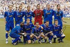 Glasgow Rangers FC 2008 UEFA Cup Final full team signed re-print