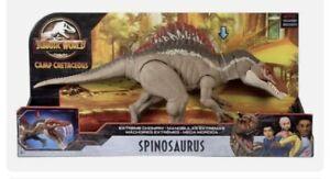 Jurassic World Extreme Chompin' Spinosaurus Dinosaur Action Spino New Ships Now
