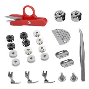 Industrial Flat Bed Sewing Machine Accessories Regular Spare Parts Tool Kits