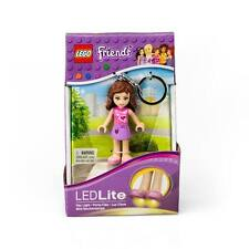 NEW LEGO Friends Olivia Keychain Flashlight LED Lite Mini Doll Pocket Size Light