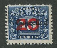 CANADA REVENUE FX129 USED