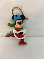 Disney Grolier Christmas Tree Ornament Minnie Mouse Skating
