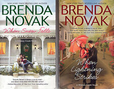 Complete Set Series - Lot of 10 Whiskey Creek Books by Brenda Novak (Romance)