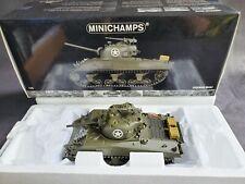 Minichamps M4A3 WWII Sherman Tank 1:35 Scale Diecast D-Day War Model