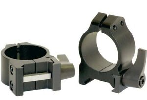 Warne Maxima Quick Detach Scope Rings 1 Inch Low 200LM