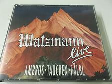 39358 - AMBROS TAUCHEN FÄLBL - WATZMANN LIVE - 1991 DINO 2CD SET (401090305027)