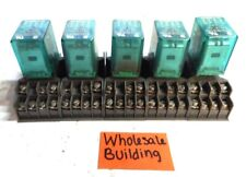 MIDTEX, RELAY, 156-14T200, 120VAC, 14-PIN, LOT OF 5