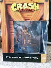 Crash Bandicoot Golden totaku édition collector, rare Collectables Crate Box