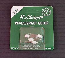 MR. CHRISTMAS 38546 CB3 2.4V CONTROLLER SPARE BULBS (5112)