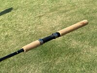 "Vintage SHIMANO SCIMITAR 6'6"" Graphite Fishing Spinning Rod  / 2 pc"