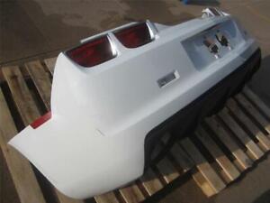 2011-2013 Chevy Camaro Rear Bumper Cover Fascia Olympic White w/o Rear Sensors