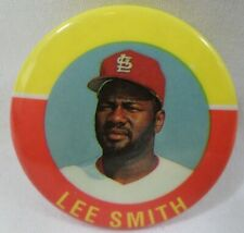 Lee Smith St Louis Cardinals Vintage 1992 Mlb Baseball Button Pinback