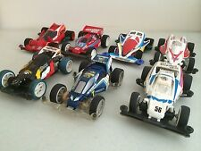 Tamiya Super Mini 4WD Racing Cars lot 1990 Japan Rare