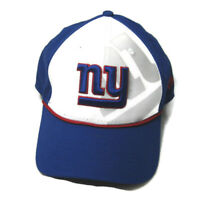 NEW YORK NY GIANTS New Era 9Forty (Adult Snapback) Blue White Baseball Cap Hat
