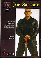 Joe Satriani Guitar Legendary Licks 2 DVD Learn To Play