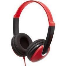 Groov-e gv-590 kids complet sur oreille stéréo léger ipod mp3 casque rouge nouveau
