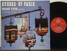 GEORGE FEYER TRIO Echoes of Paris VERY RARE 1966 SUPER MAJESTIC LP Dutch Import
