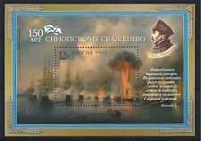 RUSSLAND RUSSIA 2003 BLOCK 63 MNH 150th ANNIV BATTLE OF SINOP NACHIMOV FLEET