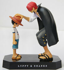 Figurine One Piece Luffy and Shanks Memories