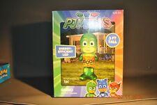 Gemmy Airblown Inflatable PJ Masks Gekko Halloween LED Lights 5' Tall New